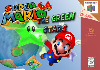 Super Mario 64 the Green Stars