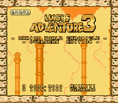 Luigi's Adventure 3: Overseas Edition