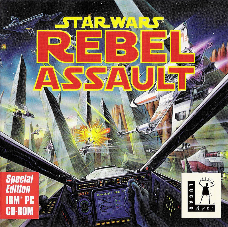 Rebel Assault DOS