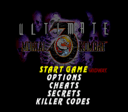Ultimate Mortal Kombat 3 God Mode