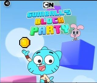 The Amazing World of Gumball: Blocky Party