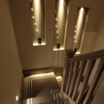 7 Ultimate Staircase Lighting Ideas For Your Home John Cullen | Steps Side Wall Designs | Bedroom | Small House | Marble | Dining Room | Wall Highlight