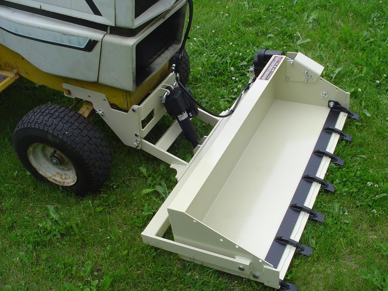 Garden Swisher Tractor Bucket Dump
