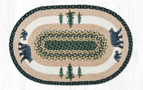 Braided Accent Rugs Earth Rugs Handpainted Stair Treads Are 100 | Earth Rugs Stair Treads | Natural Jute | Burgundy Mustard | Non Slip | Area Rugs | Mats Rugs