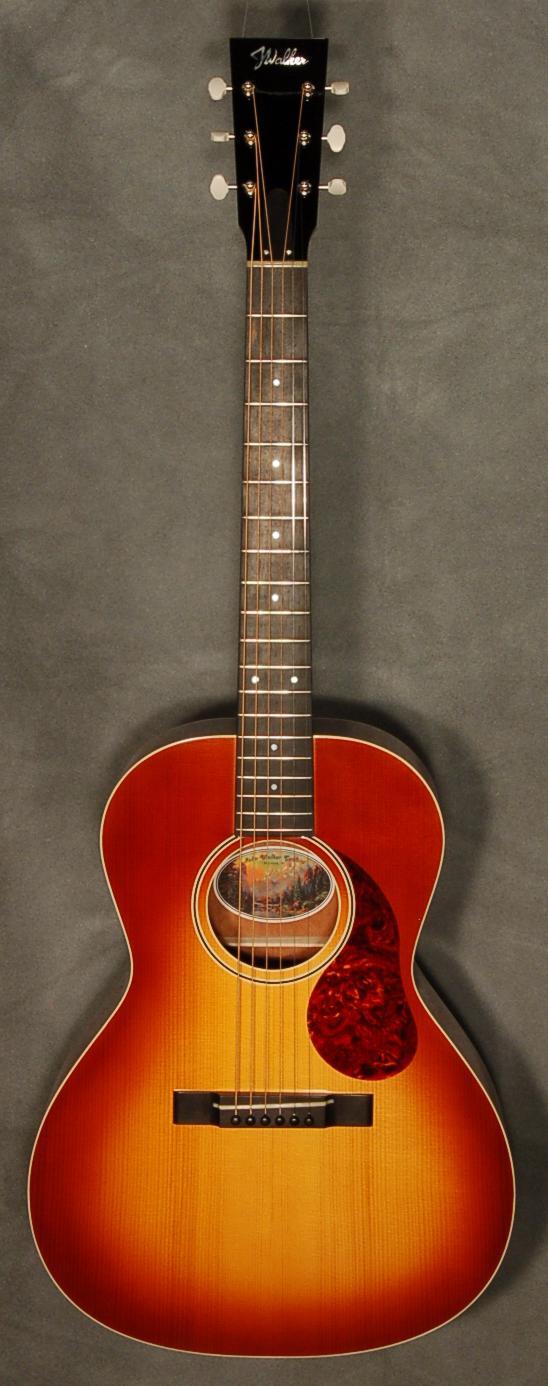 Acoustic Guitars Ebony Fretboards
