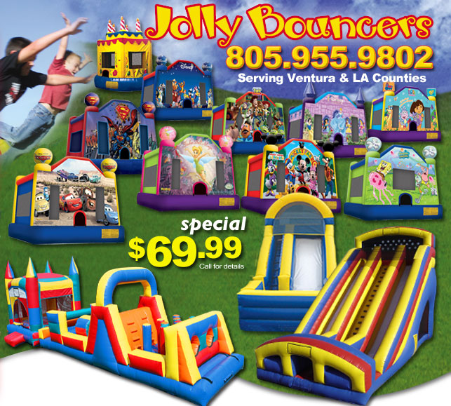 Bouncy House Rentals Near Me