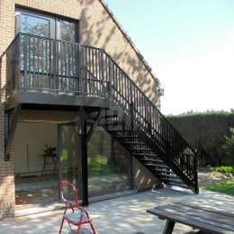 Fire Escape Stairs Jomy   External Steel Staircase Prices   Handrail   Porch   Deck   Stair Treads   Wrought Iron Railings