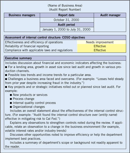 Security Policy Summary Information Executive