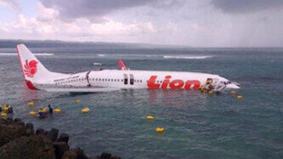 Lion Air Plane Crashes Into Sea in Bali, Indonesia ...