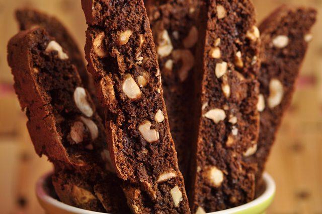 Chocolate Hazelnut Biscotti Recipe Joyofbaking Com