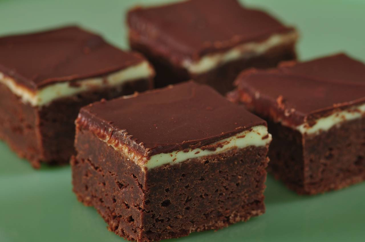 Chocolate Mint Brownies Joyofbaking Com Video Recipe