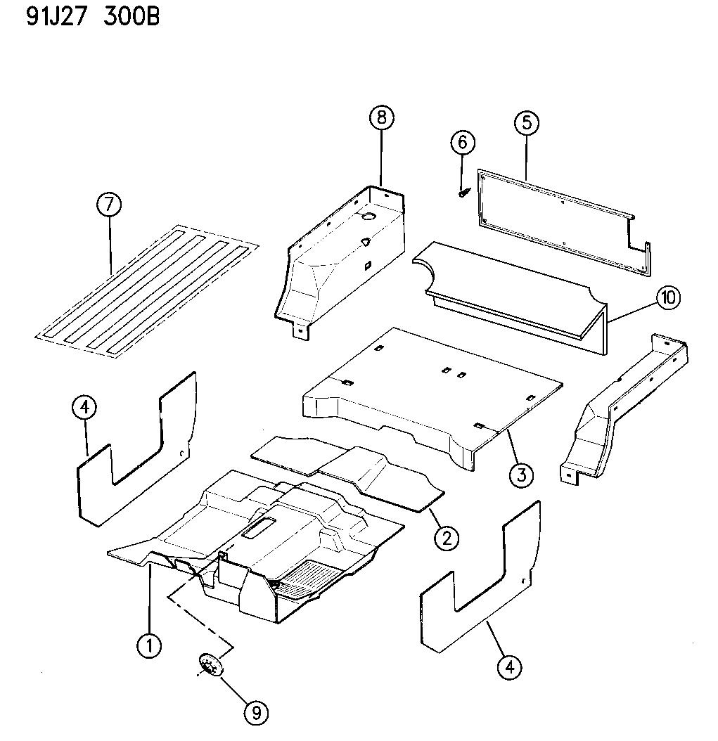97 Jeep Wrangler Door Parts Diagram