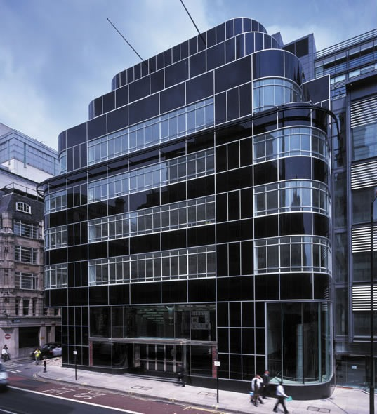 The Daily Express Building London Ec4 John Robertson