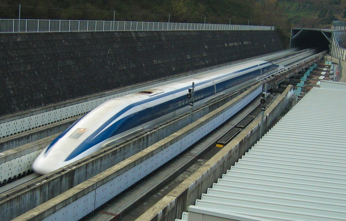 Japanese Maglev Train: World's Fastest Bullet Train ...