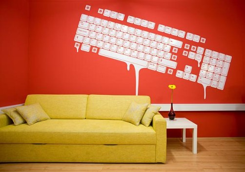 Graphics Cool Office Wall