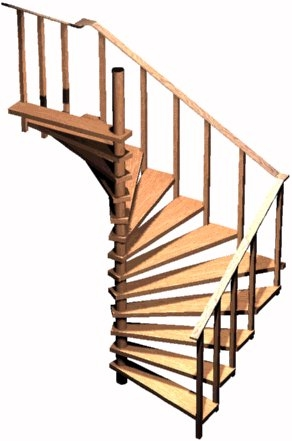 Spiral Stair Plans Spiral Stairs Crafted In Wood | 6 Foot Spiral Staircase | Tread Depth | Stair Kit | Metal | Building Code | Hayden Gray