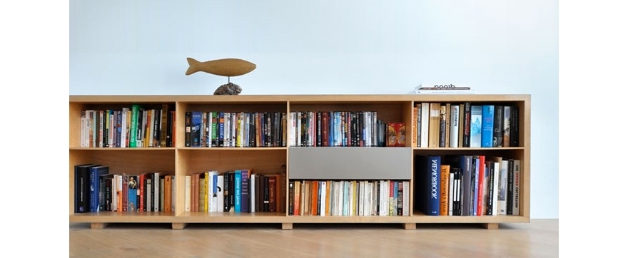 Long And Low Bookcase
