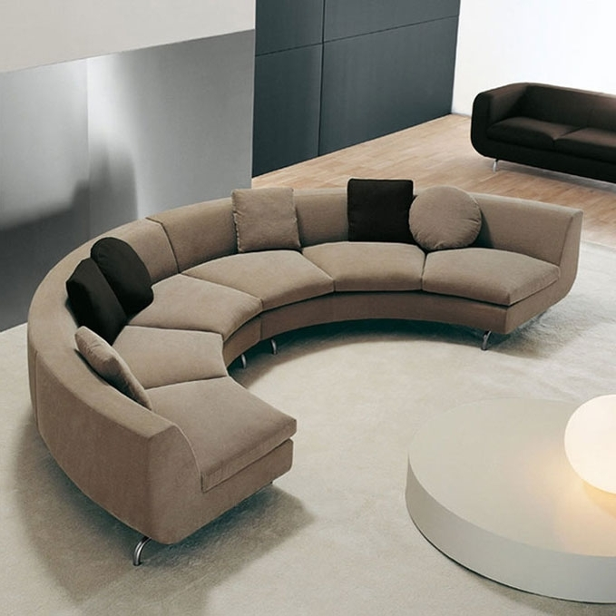 Sofa Set Round Shape