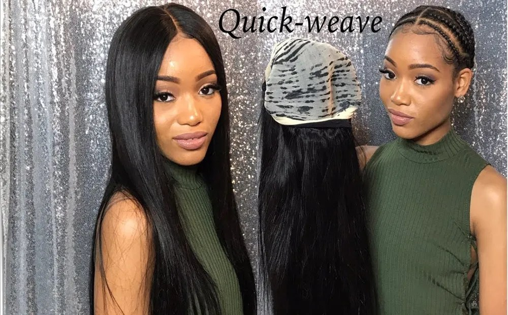 How To Make A Quick Weave  Blog     Julia hair quick weave hair