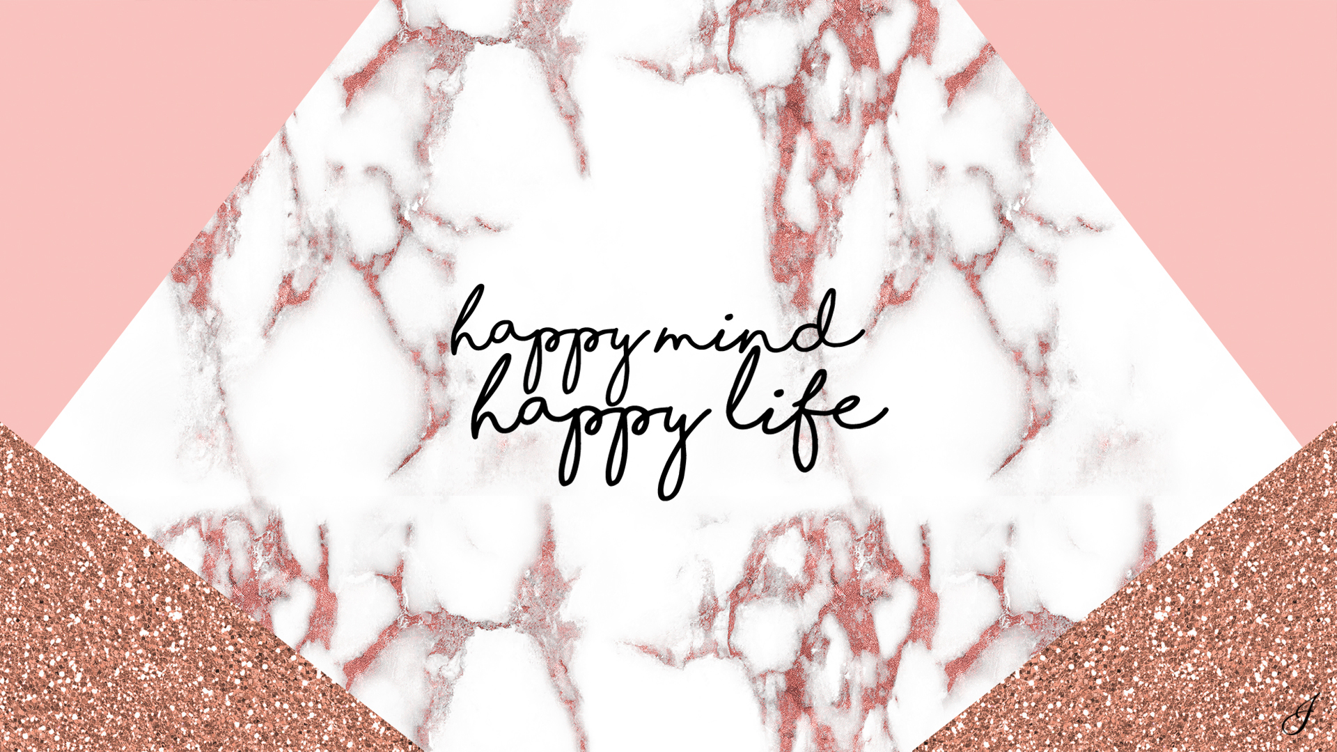 Rose Gold Marble Computer Backgrounds