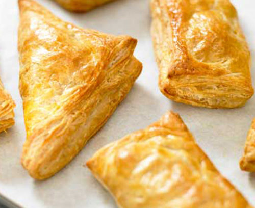 Chocolate Turnovers Puff Pastry