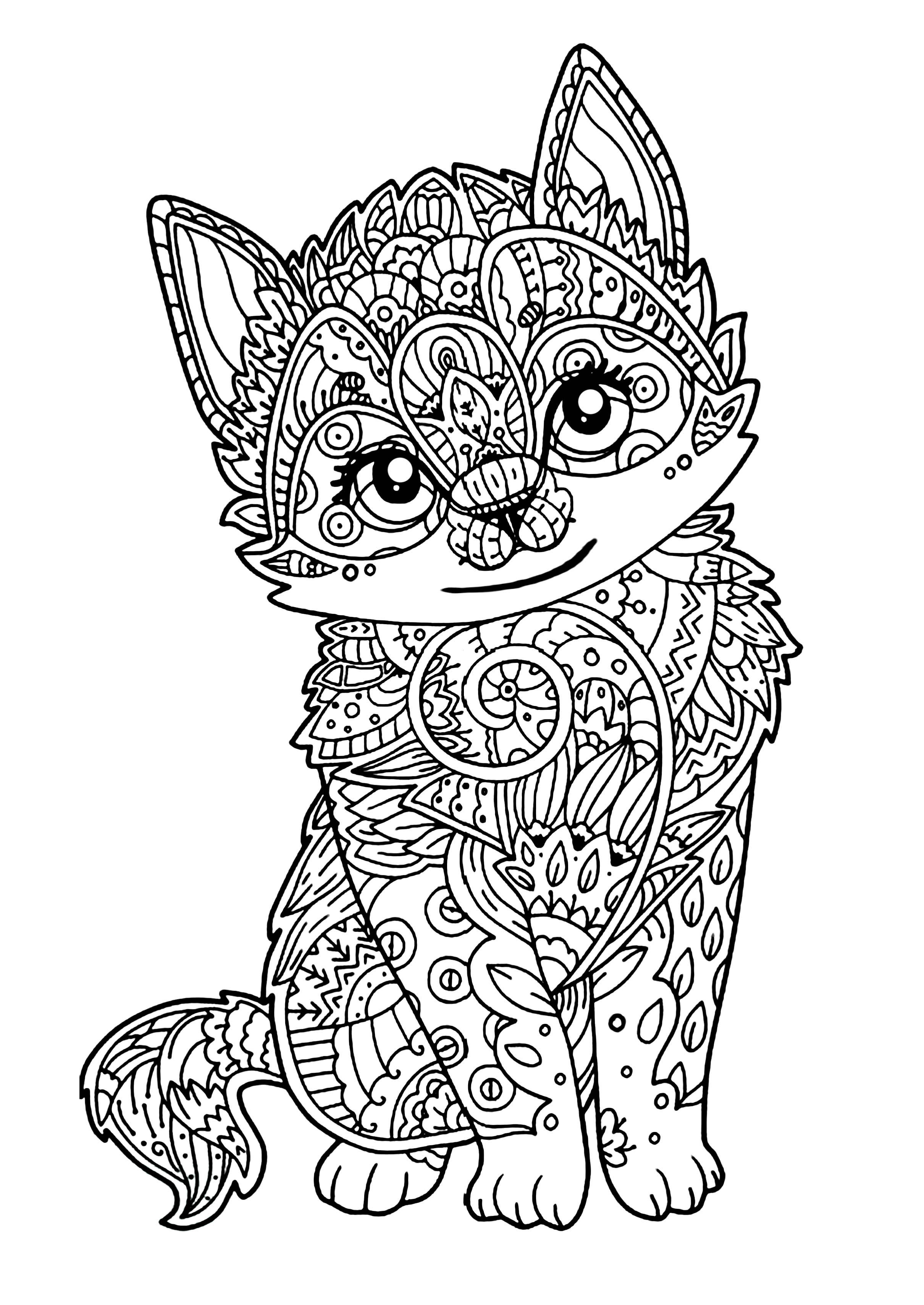 coloring pages of squishies | Squishies Coloring Pages
