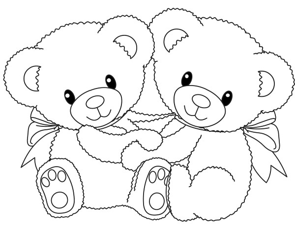 coloring pages of bears # 2