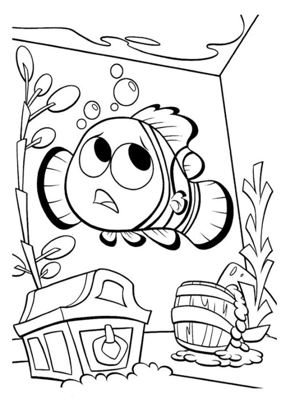 finding nemo coloring page # 55