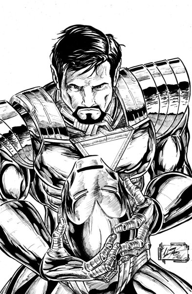 Iron Man To Color For Children Kids Coloring Pages Free Page