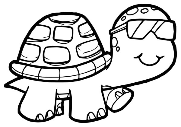 coloring pages turtle # 22