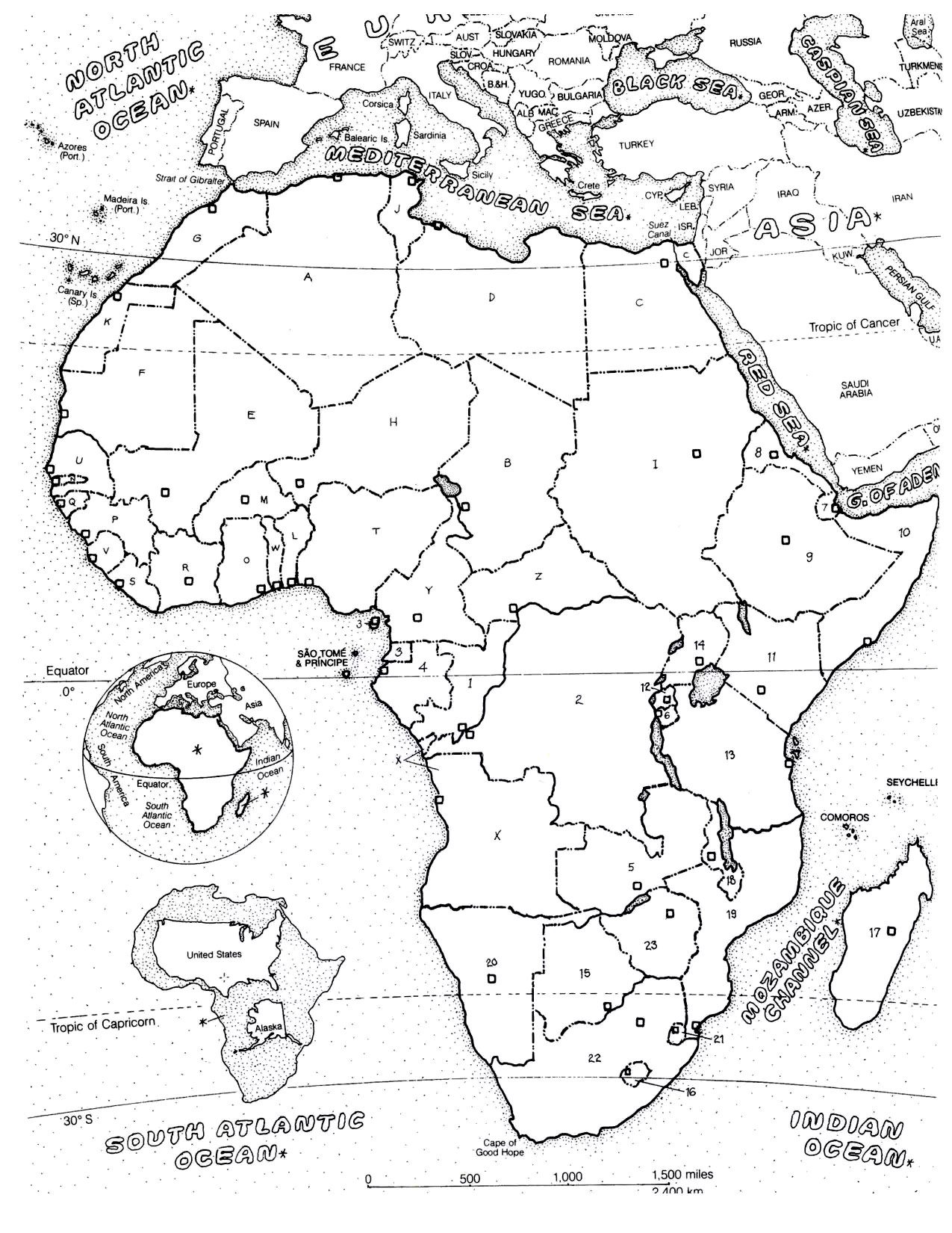 Africa Coloring Page Free Coloring Pages Download | Xsibe asia ...
