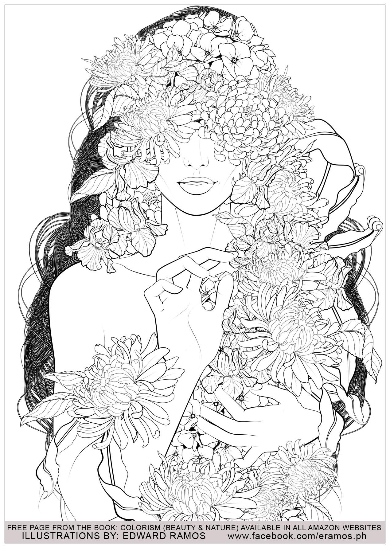 Beauty And Nature Edward Ramos 5 Zen And Anti Stress Coloring