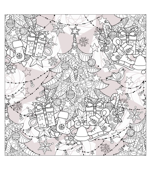adult christmas coloring pages # 27
