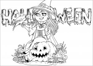 coloring halloween pages # 27