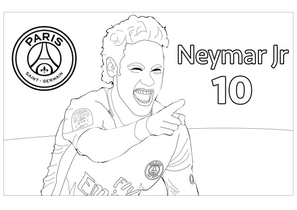 football player coloring page # 56