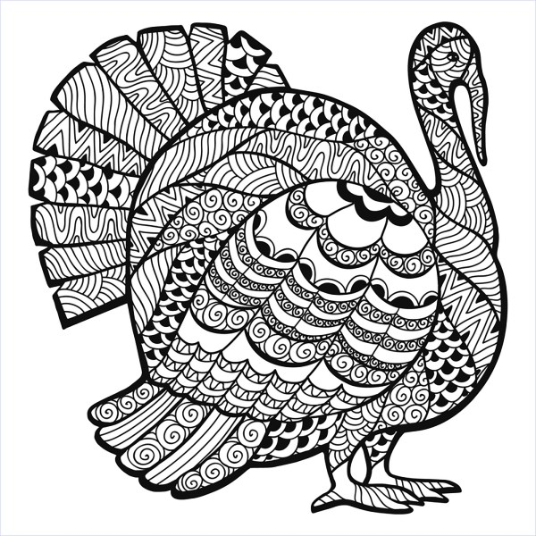 free thanksgiving coloring pages printable # 8