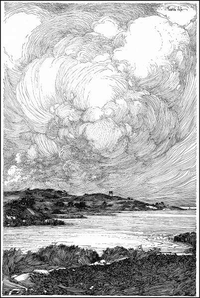 Sea   Coloring Pages for Adults Coloring page illustration sea franklin booth  Detailed pen and ink  illustration of an incredible seascape  by Franklin Booth   1874   1948