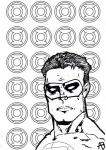 comic book coloring pages # 51