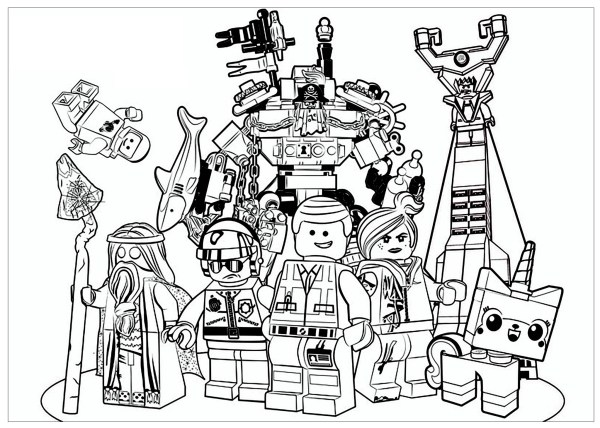legos coloring pages # 67