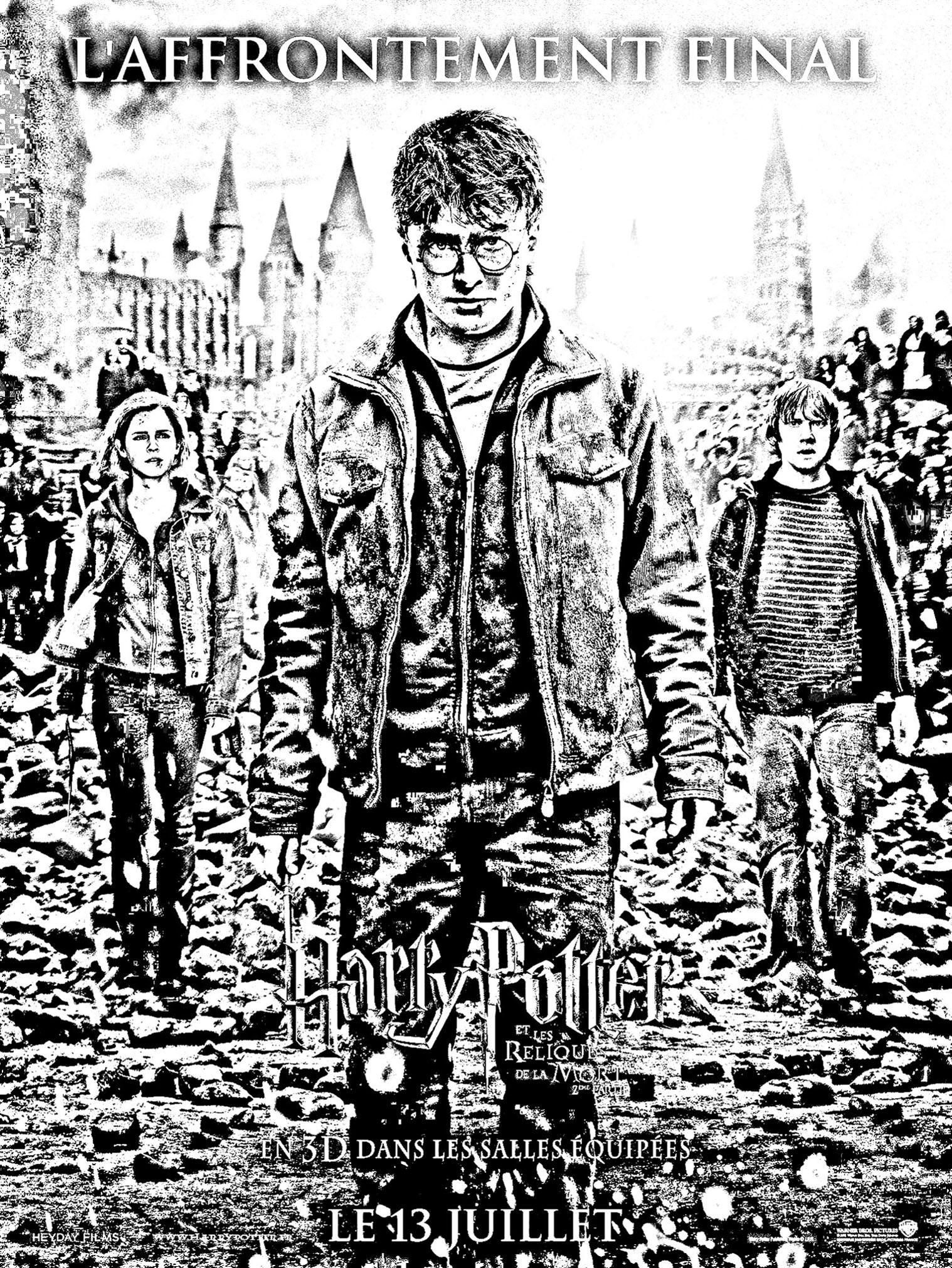 Harry Potter Coloring Pages For Adults Justcolor