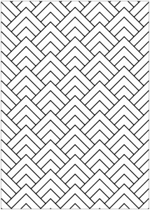 optical illusions coloring pages # 2
