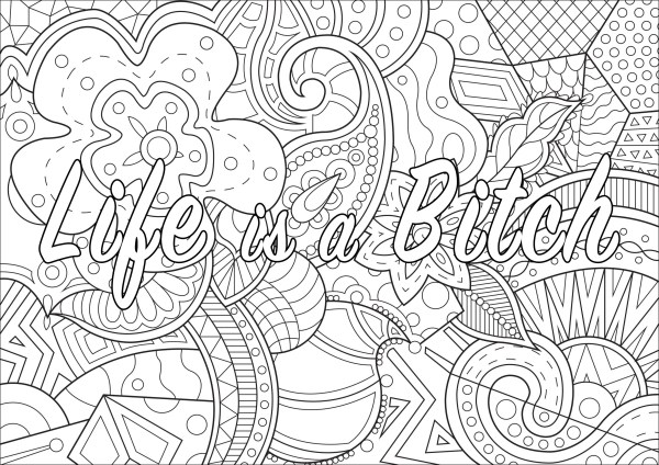 word coloring pages # 8