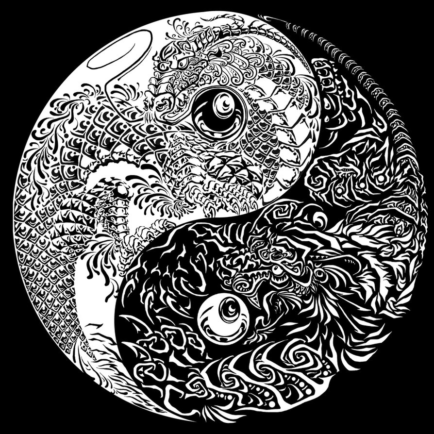 Coloring Yin Yang Gratuit Tibet Coloring Pages For Adults
