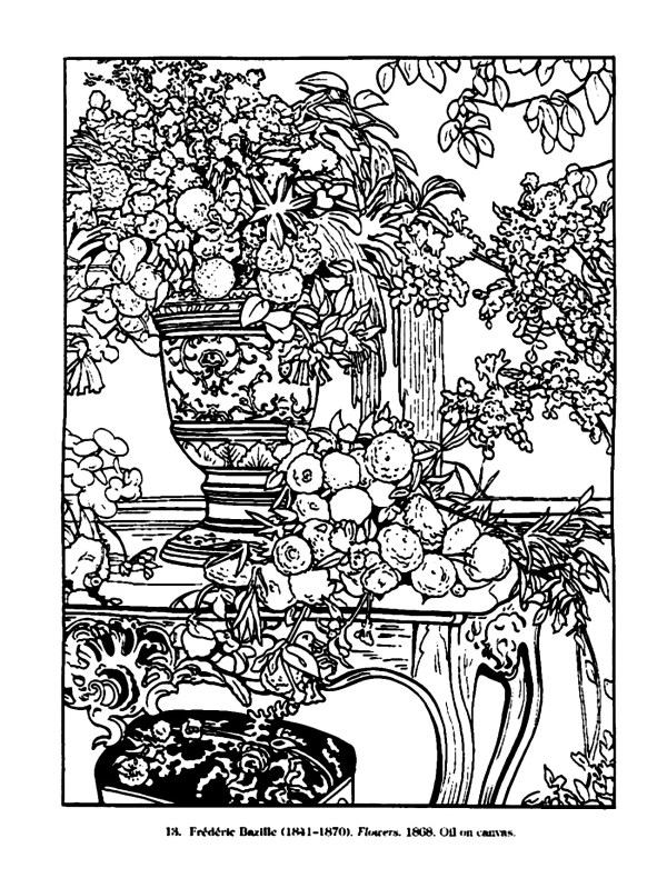 vintage coloring pages # 9