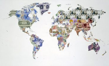 Money Maps   Limited Editions   Justine Smith Money Map of the World