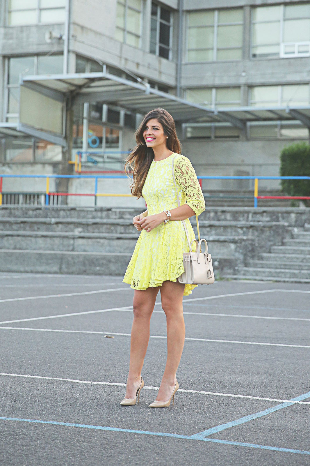 Yellow Dress Sneakers