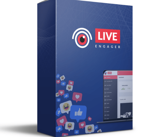 LIVE Engager Premium Lead Software by Chris Jenkins