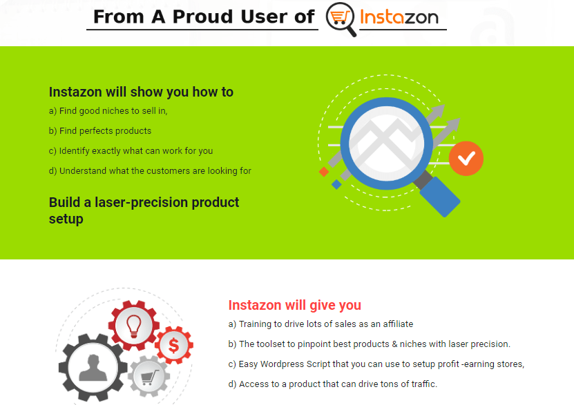 Instazon Suite Amazon Marketing Software by Cyril Gupta