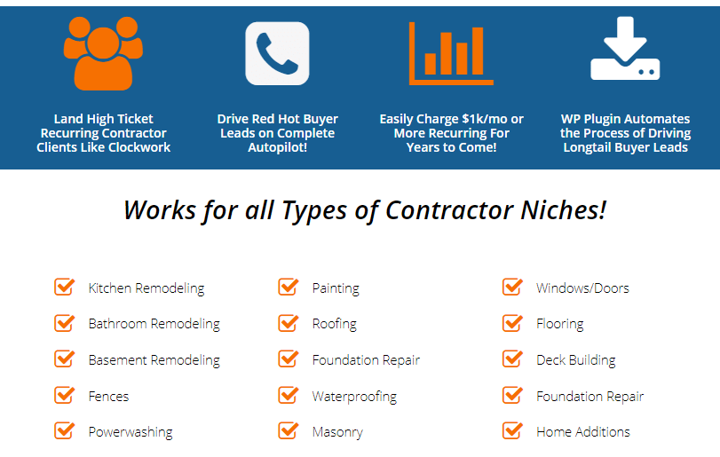 Contractor Takeover PRO WSO Package by Robert Dickson