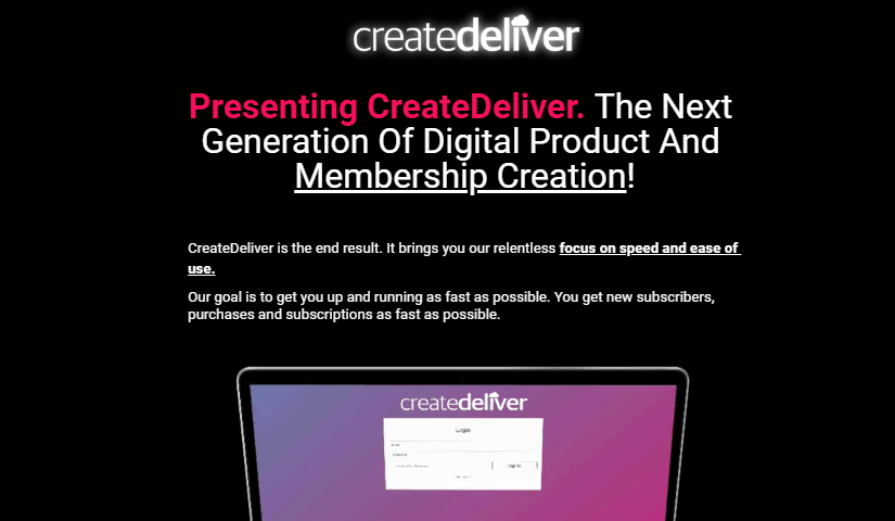 CreateDeliver Charter License by Steve Benn